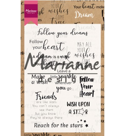 Marianne Design - Dream sentiments UK