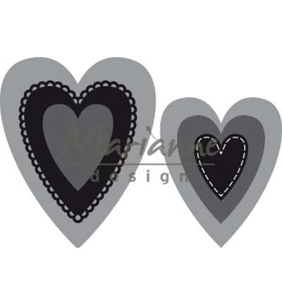 Marianne Design - Craftables - Nest Die Hearts