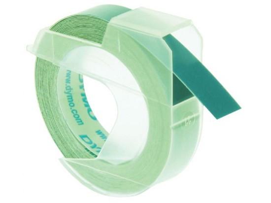 Labeltape Dymo - Rol 9mmx3M glossy vinyl - Groen