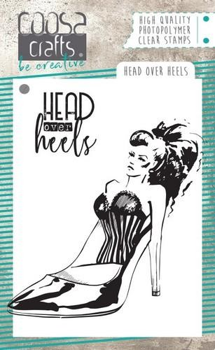 COOSA Crafts - Clearstamps A7 - Head over heels