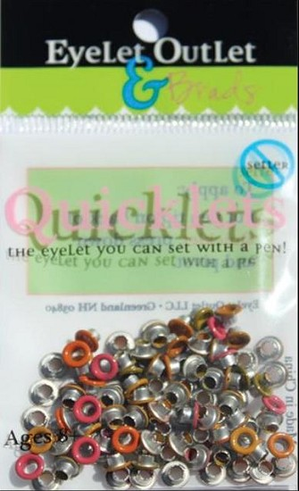 "Eyelet Outlet - Quicklets Eyelets 1/16"" - Fall"
