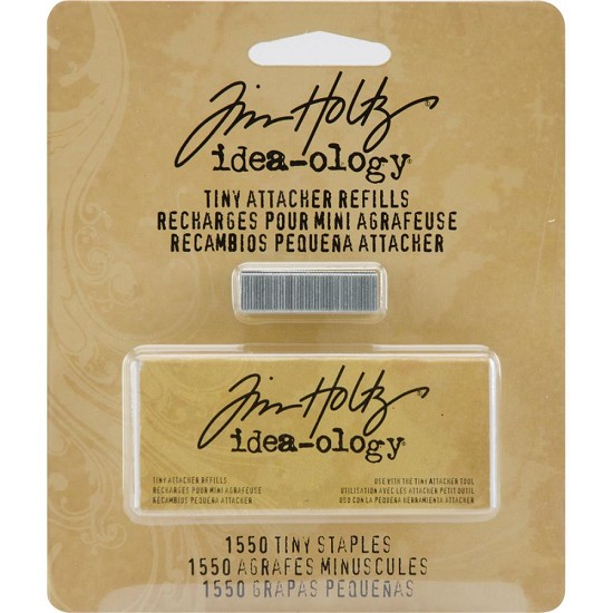 Tim Holtz - Idea-Ology - Tiny Attacher Refill Staples .25""