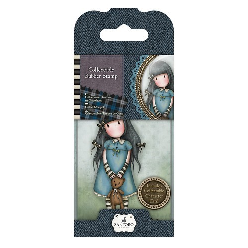 Gorjuss - Rubber Stamp Santoro - MINI 04 Forget me Not