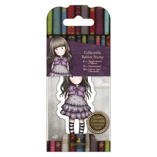 Gorjuss - Rubber Stamp Santoro - MINI 032 Little Violet