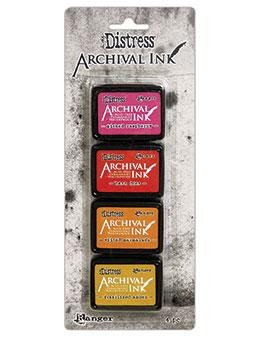Tim Holtz - Distress Archival Ink - Mini Kit #1