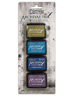 Tim Holtz - Distress Archival Ink - Mini Kit #2