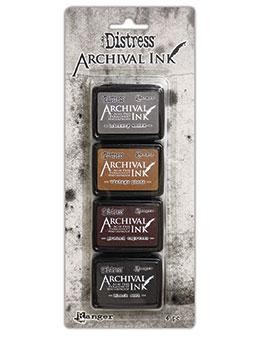 Tim Holtz - Distress Archival Ink - Mini Kit #3