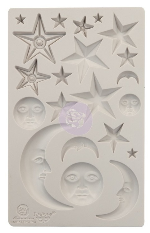 Prima Marketing - Mould Stars and Moons (Finnabair)