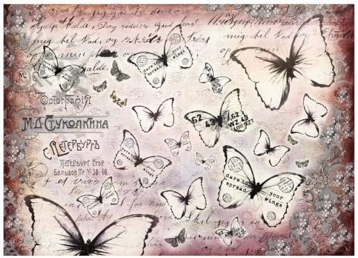 Finnabair - Tissue Paper - Flutter