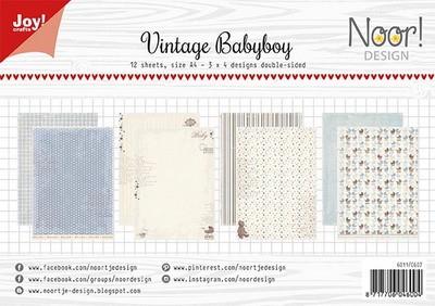 Noor! Design - Paperpad A4 - Vintage Babyboy