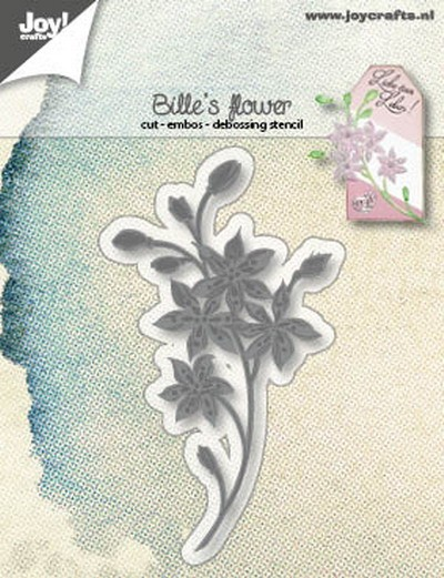 Joy! Crafts - Cutting & Embossing mal - Bille`s Flower