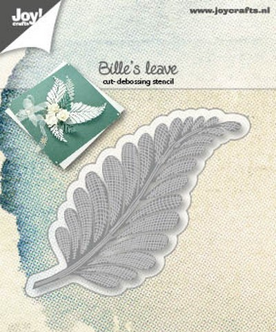 Joy! Crafts - Cutting & Embossing mal - Bille`s Leave