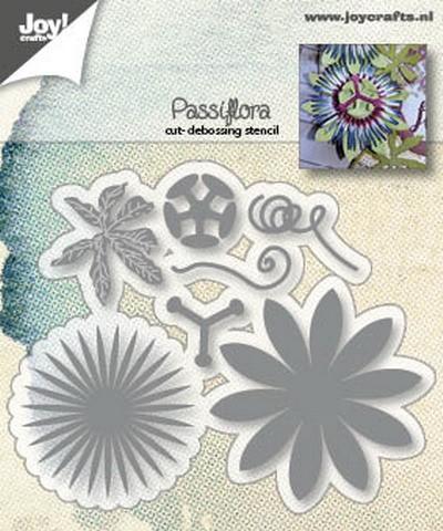 Joy! Crafts - Cutting & Embossing mal - Passiflora