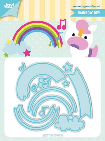 Jocelijne Design - Tumble Friends - Rainbow-sky