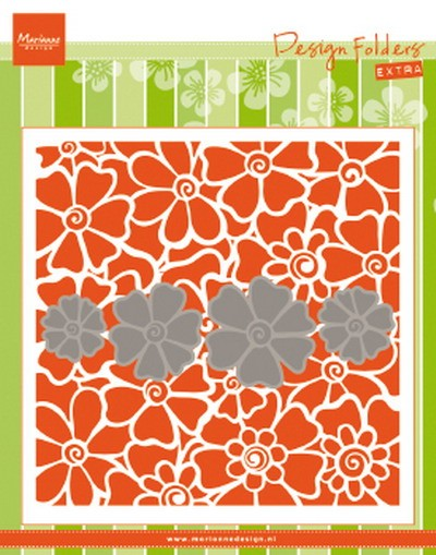 Marianne Design - Design Folder + Die - Poppies