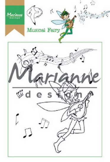 Marianne Design - Clearstamp - Hetty`s Musical Fairy