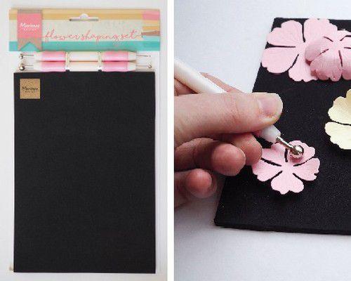 Marianne Design - Flower Shaping Set