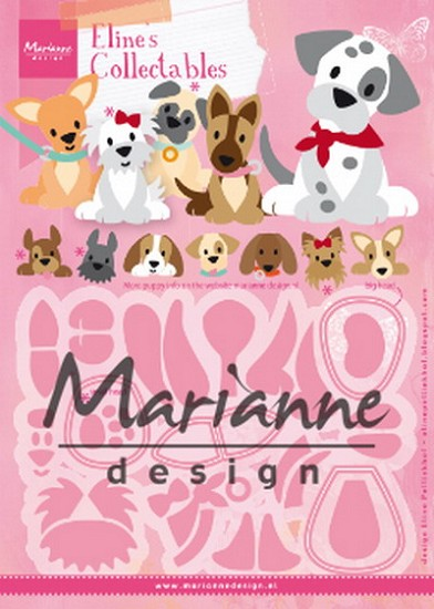 Marianne Design -  Collectables - Eline`s Puppy