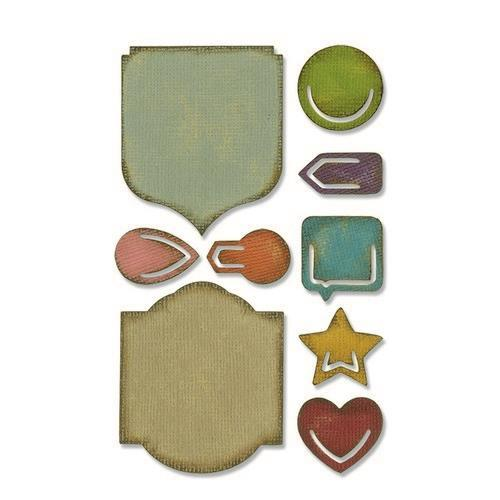 Sizzix Sidekick Side - Order Set Noted - 664150 Tim Holtz