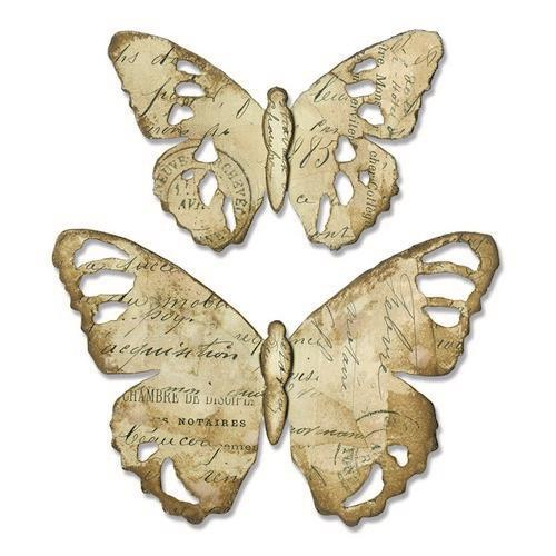 Sizzix Bigz Die - Tattered Butterfly - 664166 Tim Holtz