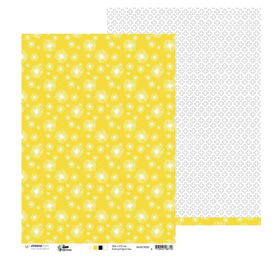 Studio Light - Designpapier A4 - Create Happiness nr 280
