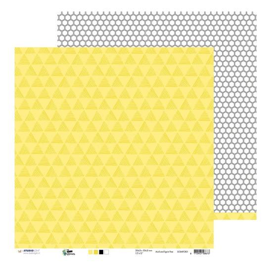Studio Light - Scrappapier - Create Happiness nr.01 SCRAPCR01