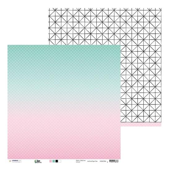 Studio Light - Scrappapier - Create Happiness SCRAPCR04