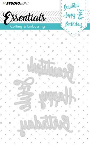 Studio Light - Embossing Die Cut Stencil - Essentials nr.163