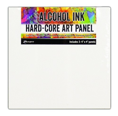 Ranger - Alcohol Ink - Hard Core Art Panels - 4 x 4