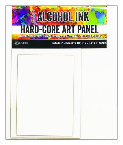 Ranger - Alcohol Ink - Hard Core Art Panels - Rectangle