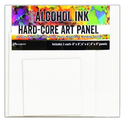 Ranger - Alcohol Ink - Hard Core Art Panels - Square 3