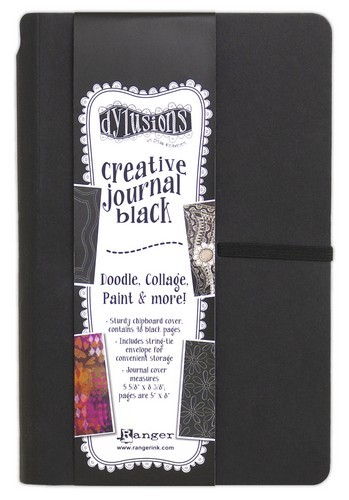 Ranger - Dylusions Black Journal - Small