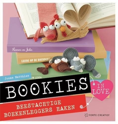 Haakboek - Bookies in love - Jonas Matthies