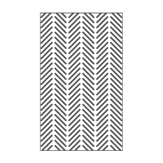 "Vaessen Creative - Embossing folder 3x5"" - Wheat"