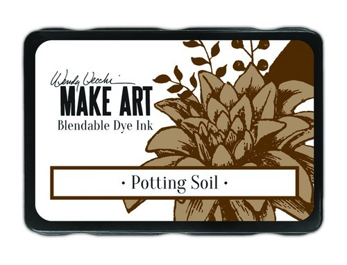 Ranger - MAKE ART Dye Ink Pad - Potting Soil