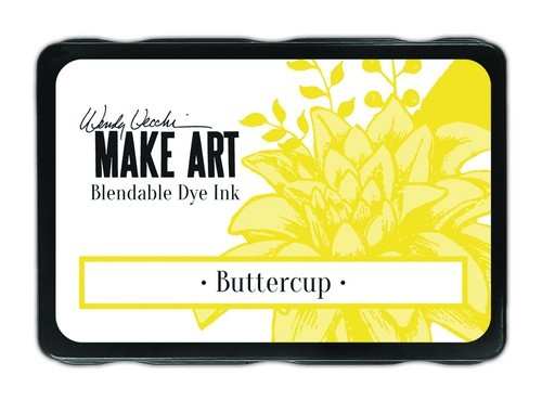 Ranger - MAKE ART Dye Ink Pad - Buttercup