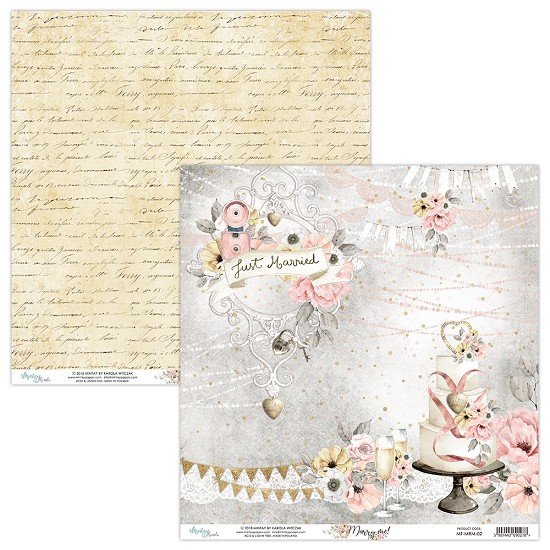 Scrappapier Mintay Papers - Marry Me - MT-MRM-02