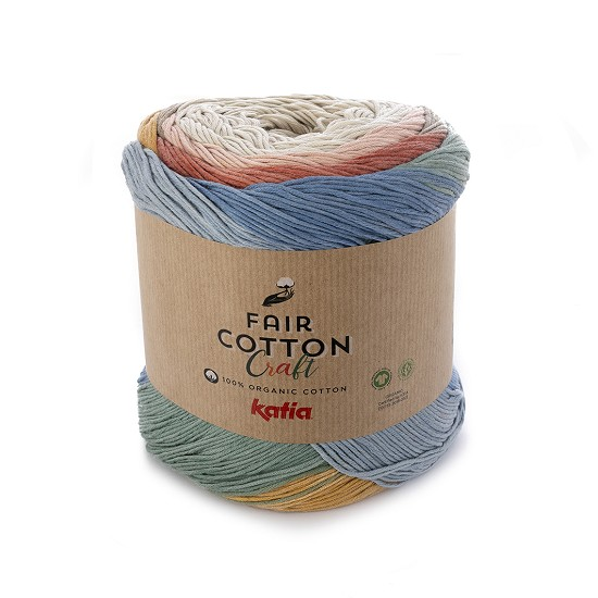 Breiwol Katia - Fair Cotton Craft - Kleur 500