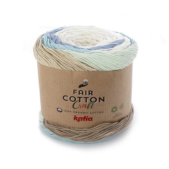 Breiwol Katia - Fair Cotton Craft - Kleur 502