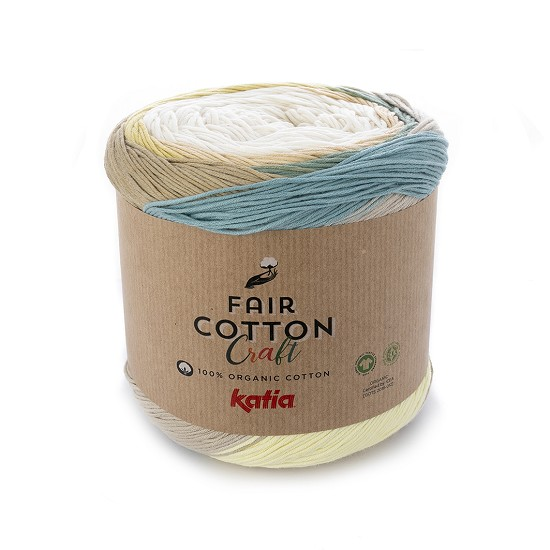 Breiwol Katia - Fair Cotton Craft - Kleur 501