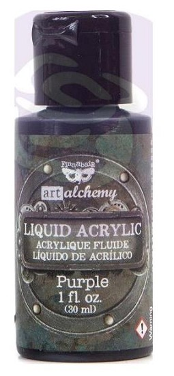 Finnabair -  Art Alchemy Liquid Acrylic Paint - Purple
