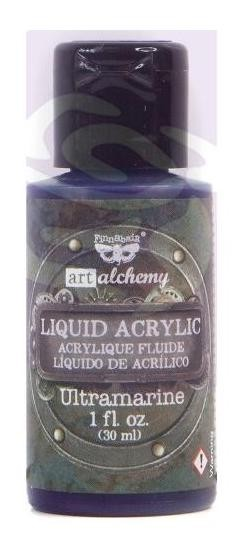 Finnabair -  Art Alchemy Liquid Acrylic Paint - Ultramarine