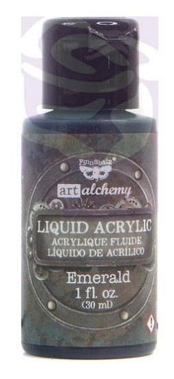 Finnabair -  Art Alchemy Liquid Acrylic Paint - Emerald