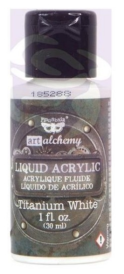 Finnabair -  Art Alchemy Liquid Acrylic Paint - Titanium White