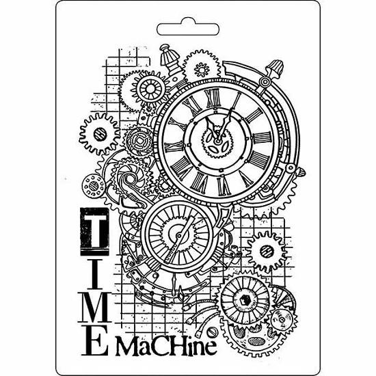 Stamperia - Soft Mould A5 - Time Machine
