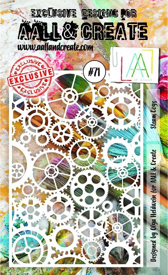 AALL & CREATE - Stencils - A6 set number #71