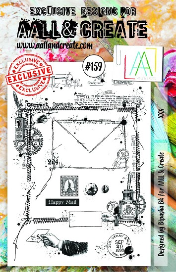 AALL & CREATE - Clearstamp A5 - Set number 159