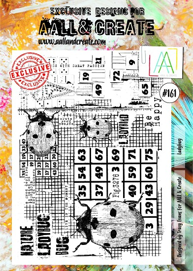 AALL & CREATE - Clearstamp A4 - Set number 161