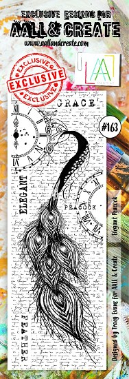 AALL & CREATE - Clearstamp border - Set number 163