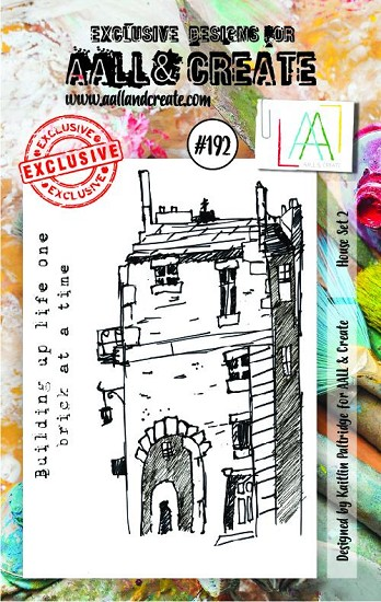 AALL & CREATE - Clearstamp A7 - Set number 192